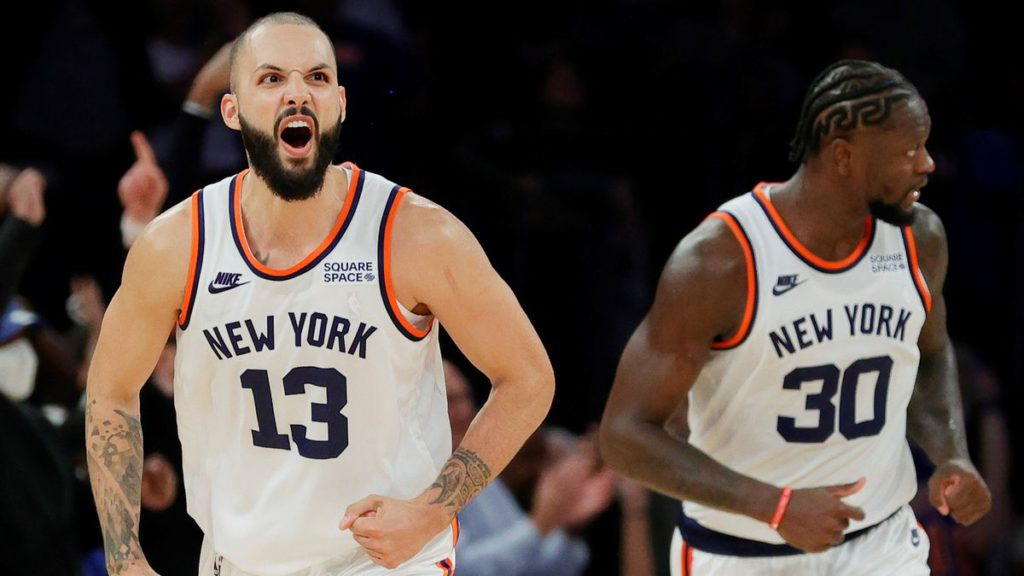 Evan Fournier's introduction to New York couldn't have gone better