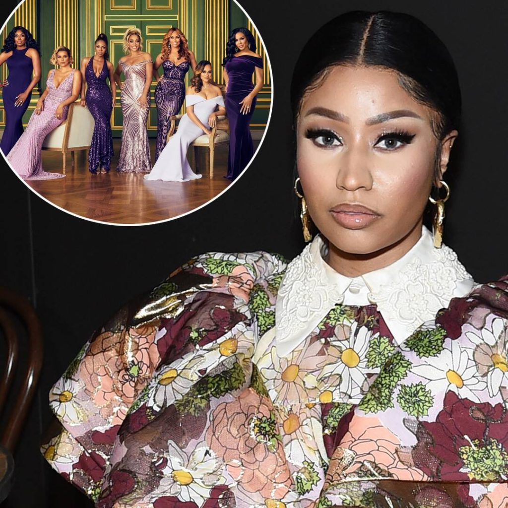 Here's Your First Look at Nicki Minaj at The Real Housewives of Potomac Reunion