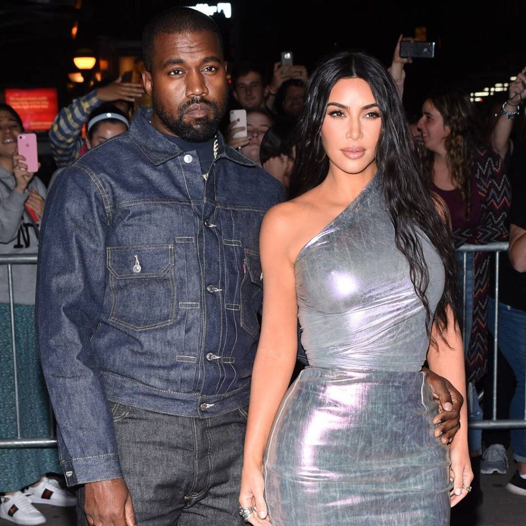 Kim Kardashian and Kanye West Step Out Together—In Style, Of Course