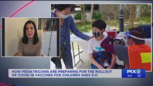 Local pediatrician preparing for vaccine rollout for young kids