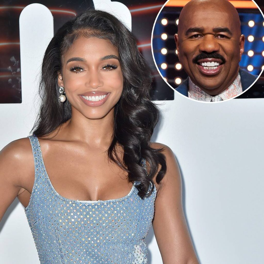 """Lori Harvey Weighs In on Dad Steve Harvey's New Status as a """"Style Icon"""""""