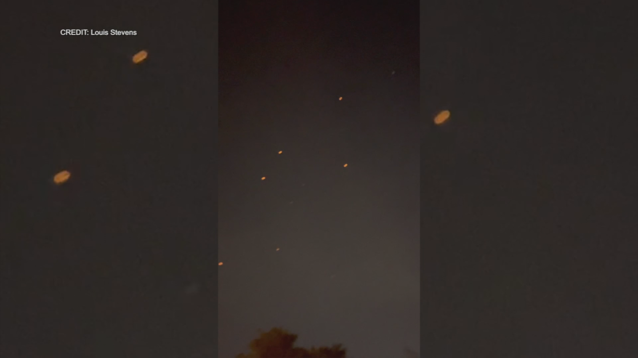 Mysterious 'flying white circles' over NJ spark conspiracy