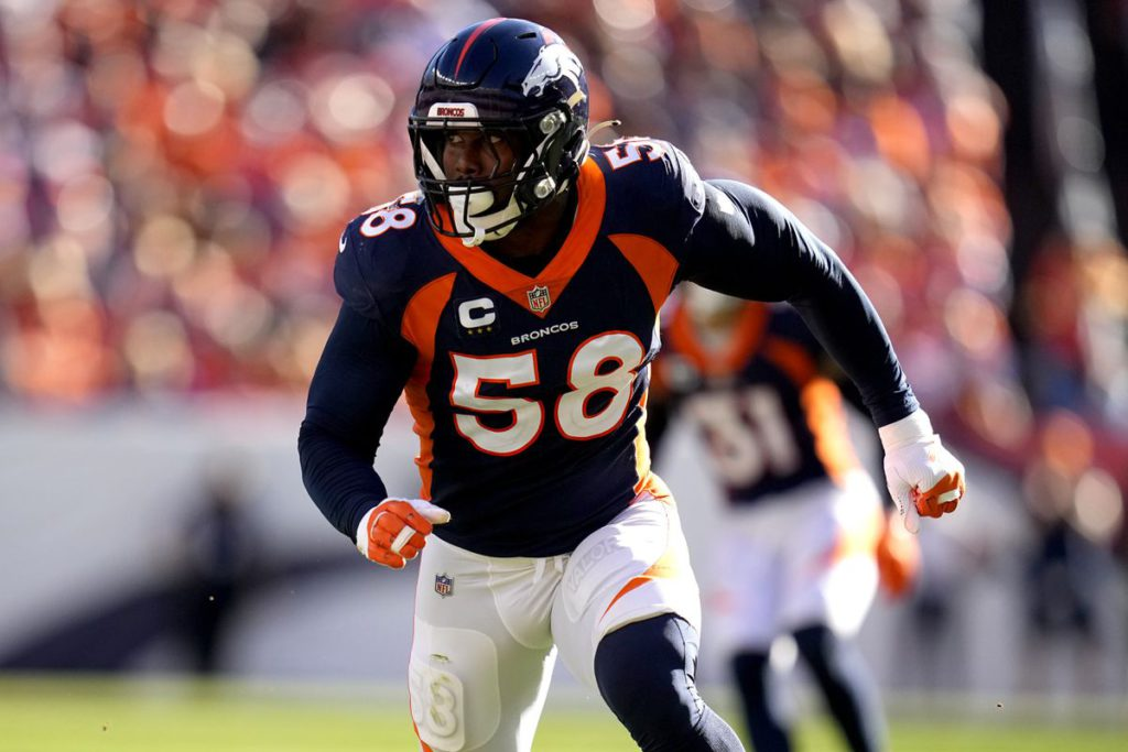 NFL Thursday Night Bettors Guide: Edge to Broncos D led by Von Miller