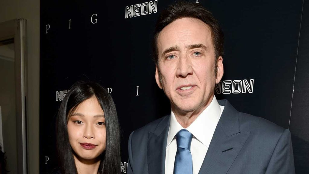 Nicolas Cage and Wife Riko Shibata Pose for First Magazine Cover Together