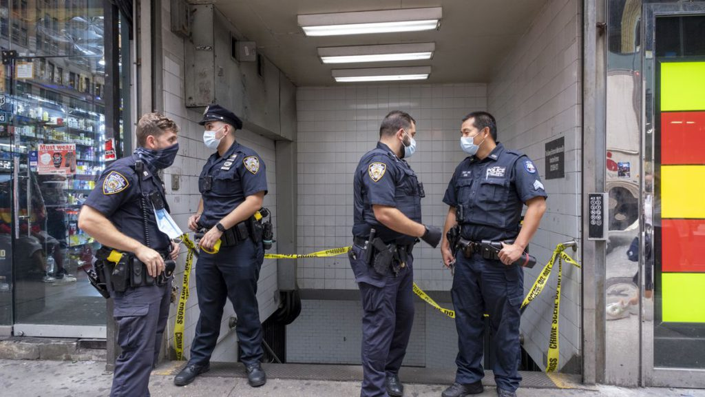 Pee shooter! Man shoots self in leg in Times Square while urinating