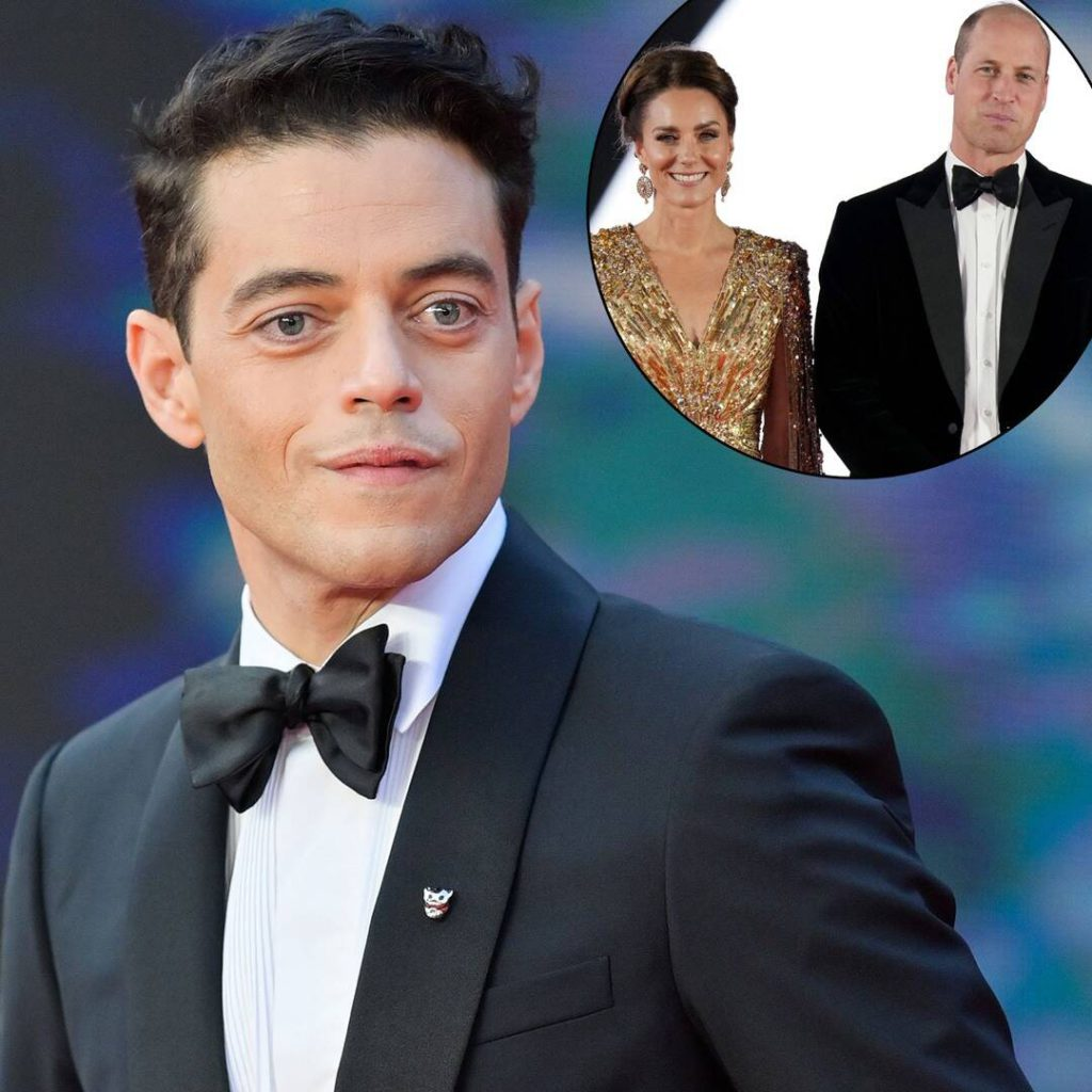 Rami Malek Reveals Prince William's Reaction to No Time to Die at Royal Premiere