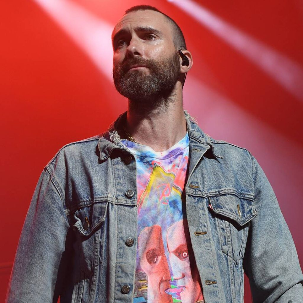 See Adam Levine's Surprised Reaction After Fan Jumps Onstage During Maroon 5 Concert