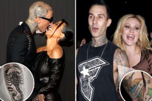 Shanna Moakler seemingly reacts to Travis Barker covering tattoo