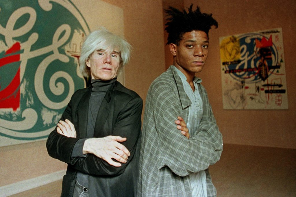 Warhol's $20M-plus portrait of Basquiat to go on view at Nets games