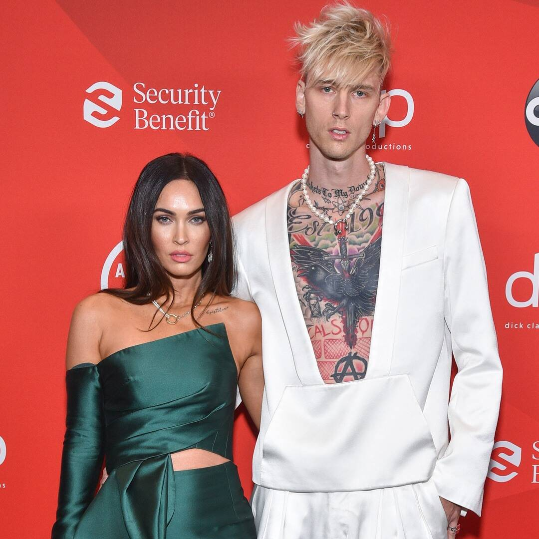 Watch Megan Fox Hilariously Try to Censor Machine Gun Kelly During a Couple's Quiz