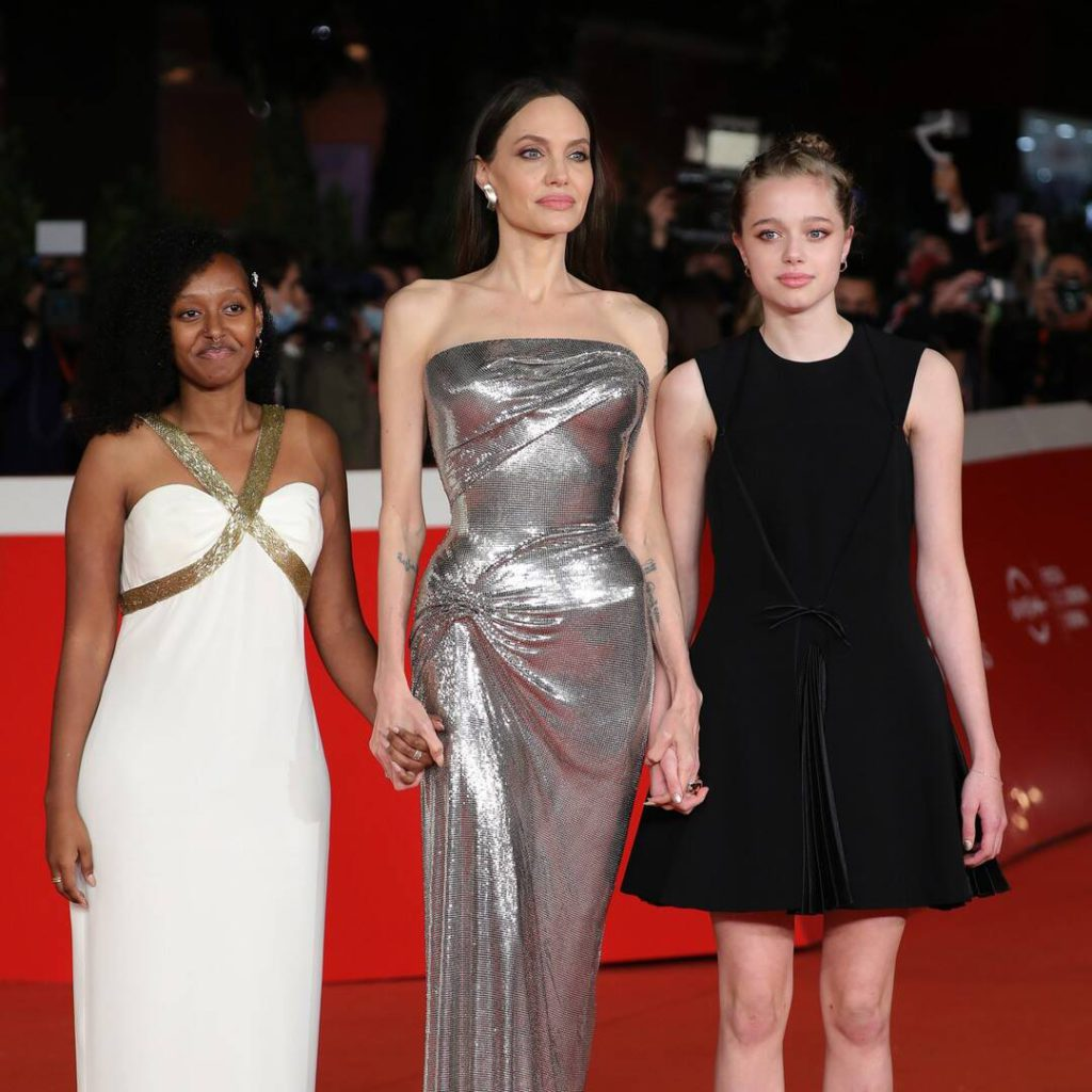 Why Angelina Jolie Encourages Her Kids to Raid Her Luxe Closet